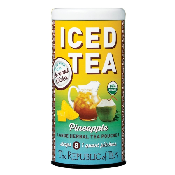 Iced Tea Pineapple Coconut Water