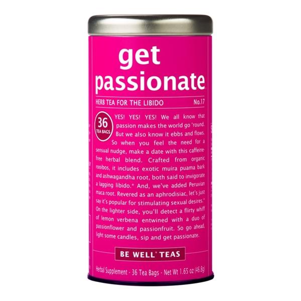 Get passionate Kräutertee für Libido