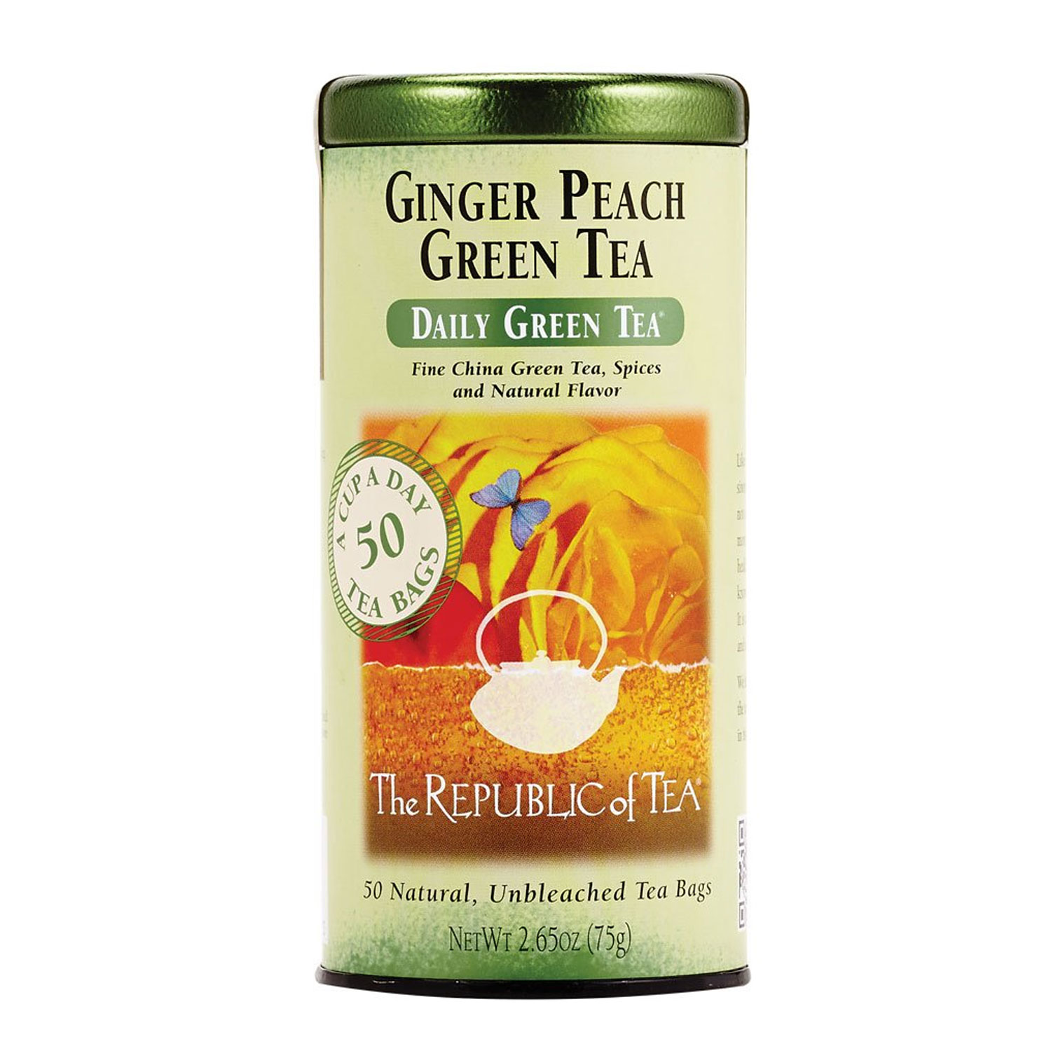 Ginger Peach Green Tea