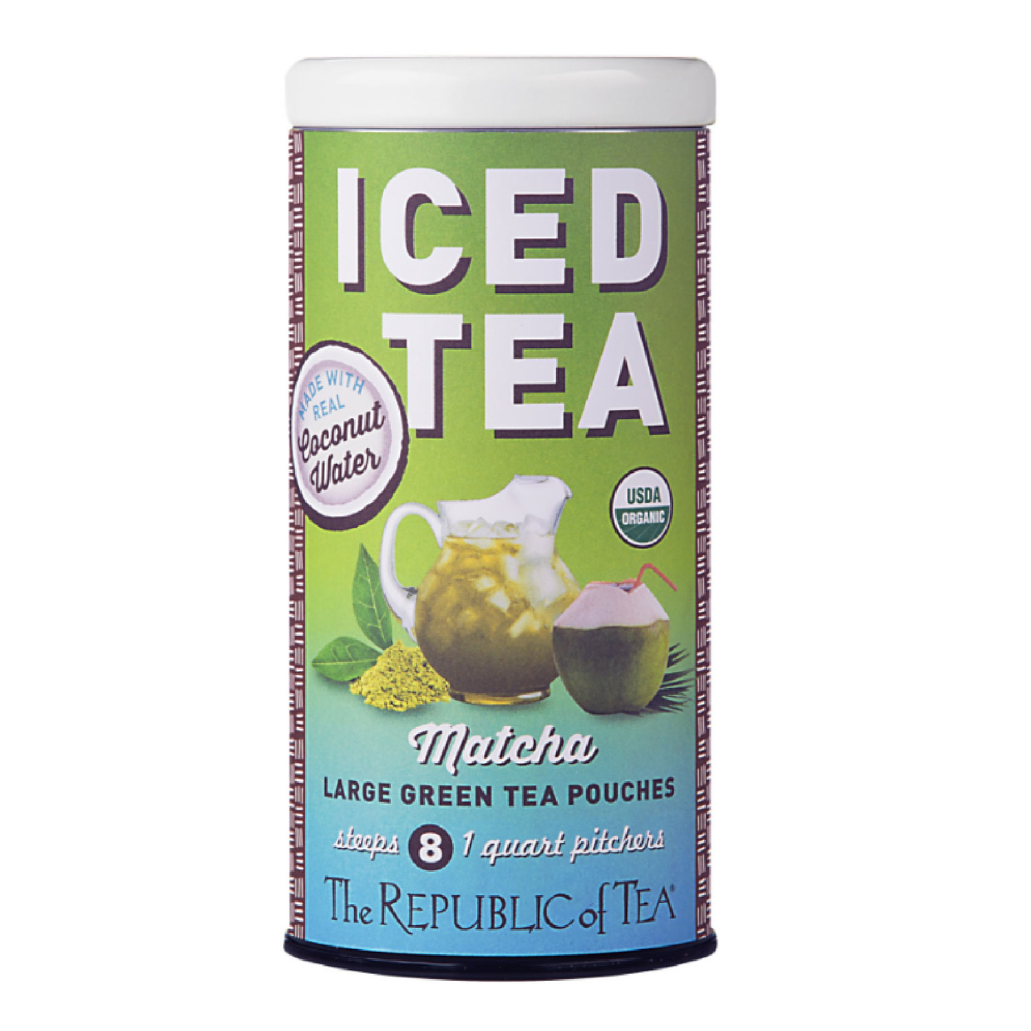 Iced Tea Coconut Matcha